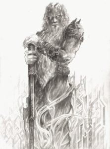 father of the dwarves aulë Nahar-Doa from deviant art